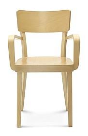 Drewniane krzesło B-9449 dąb