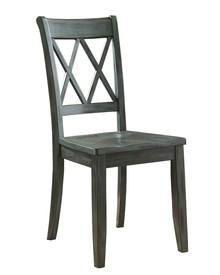 Krzesło w kolorze niebieskim D540-101