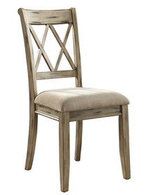 Krzesło z tapicerowanym siedziskiem D540-102