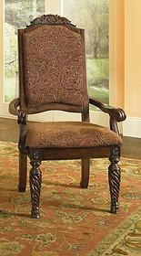 Krzesło z podłokietnikami D553-02A