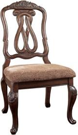 Krzesło z tapicerowanym siedziskiem D553-03