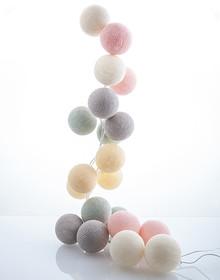 Zestaw Cotton balls Cukier Puder 20 kul