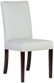 Delikatne i zgrabne krzesło tapicerowane charakteryzujące się niskim oparciem, idealne do niewielkich mieszkań czy małych lokali. Stelaż został...
