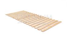 Stelaż z drewna do materacy ROLOWANY G  Rama: brak. Listwy: 16 listew o szerokości ok. 70 mm połączonych taśmą Regulacja: bez regulacji wysokości....