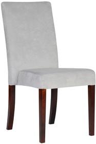 Nowoczesne krzesło tapicerowane, idealne do mieszkań czy lokali. Stelaż został wykonany z drewna bukowego dodatkowo wzmocnionego czopami meblowymi...