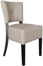 Krzesło Paris - to prosta forma z eleganckim wykończeniem. Krzesło posiada oddzielne oparcie i siedzisko. Na uwagę zasługuje grube i masywne siedzisko....