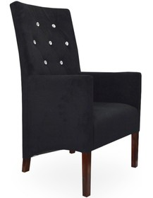 Fotel dopasuje się do każdego wnętrza ze względu na szeroki wybór tkanin. Idealny do nowoczesnego mieszkania, restauracji lub kawiarni.Stelaż...