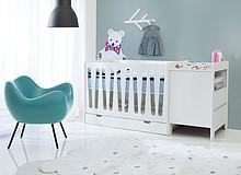 Moon – łóżeczka jedyne w swoim rodzaju  Moon to wyjątkowa kolekcja łóżeczek dziecięcych charakteryzujących się bardzo czystą, prostą i...