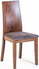 Krzesło Orlando  Wysokość : 96cm Szerokość : 44cm Głębokość : 41cm Wysokość siedziska : 47cm  Rodzaj drzewa: dąb  Istnieje również...
