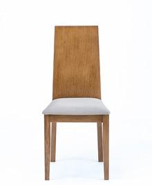 Krzesło Orlando  Wysokość : 103cm Szerokość : 44cm Głębokość : 50cm Wysokość siedziska : 45 cm Rodzaj drzewa: dąb Istnieje również...