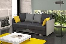 Przedmiotem oferty jest sofa Iga.  Posiada funkcję spania, pojemnik na pościel oraz automat wspomagający rozkładanie. Zastosowano sprężyny typu bonell...