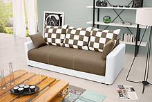 Przedmiotem oferty jest sofa Xara.  Posiada funkcję spania, pojemnik na pościel oraz automat wspomagający rozkładanie.  Możliwość wyboru gr 2...