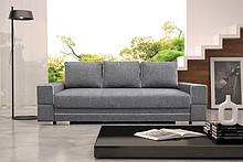 Przedmiotem oferty jest sofa Samanta A.  Posiada funkcję spania, pojemnik na pościel oraz automat wspomagający rozkładanie.  Możliwość wyboru gr 2...