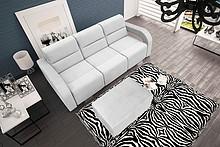 Przedmiotem oferty jest sofa Aliss wraz z pufą.  Na sprężynach falistych i sprężynach bonellowych. Sofa z funkcją spania, wspomagany systemem...
