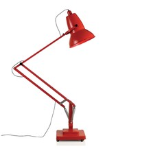 Lampa wykonana została ze stali, aluminium <br />oraz tworzywa sztucznego.<br />Wysokość klosza: 55 cm<br />Średnica klosza: 43 cm<br...