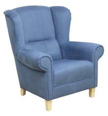 Komfort w stylowym wydaniu!  Bardzo wygodny klasyczny fotel uszak ANNA Stelaż drewniany. Siedzisko: sprężyna falista, bonell oraz pianka poliuretanowa....