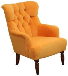Funkcjonalność w stylowym wydaniu!  Fotel o niebanalnym wyglądzie, bardzo wygodny. Stelaż drewniany. Siedzisko: sprężyna falista oraz pianka...
