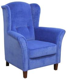 Nowoczesny wymiar komfortu!  Elegancki, klasyczny fotel uszak DAVID Wygodny, solidnie wykonany fotel. Stelaż drewniany. Siedzisko: sprężyna falista,...