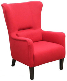 Jakość i styl!  Elegancki, wygodny fotel w paski FRANK Stelaż drewniany. Siedzisko: sprężyna falista, oraz pianka poliuretanowa. Oparcie: pasy gumowe...