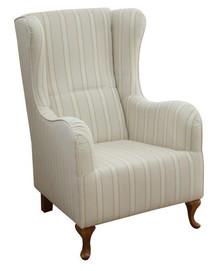 Jakość i styl!  Elegancki, wygodny fotel GRAZIA Stelaż drewniany. Siedzisko: sprężyna falista, bonell oraz pianka poliuretanowa. Oparcie: pasy gumowe...