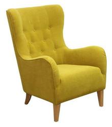Funkcjonalność w najlepszym wydaniu!  Modny, pikowany fotel JULIA Stelaż drewniany. Siedzisko: sprężyna falista, oraz pianka poliuretanowa. Oparcie:...