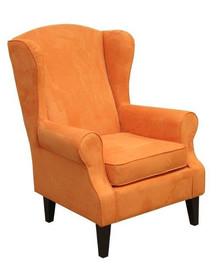"""Styl w komfortowym wydaniu!  Klasyczny fotel """"uszak"""" Stelaż drewniany. Siedzisko: sprężyna falista oraz pianka poliuretanowa. Oparcie: pasy gumowe..."""