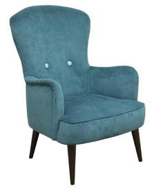 Najlepsze rozwiązanie dla Twojego domu!  Nowoczesny fotel OSLO o oryginalnym wzornictwie prezentuje się idealnie w każdym wnętrzu. Stelaż drewniany....