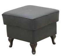 Komfort w stylowym wydaniu!  Kwadratowa, klasyczna pufa obita skórą naturalną, stanowi idealny komplet z fotelem ATOS Nóżki mogą być proste lub...