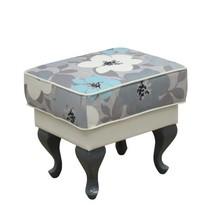 Funkcjonalne rozwiązanie w Twoim domu!  Prostokątna pufa w kwiaty, stanowi idealny komplet z fotelem HELENA Cena uzależniona od wybranej tkaniny...
