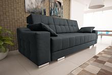 Przedmiotem oferty jest sofa Cynita.  Sofa wykonana jest na sprężynach falistych, wyposażona w pojemnik na pościel oraz funkcję spania.  Wymiary:...