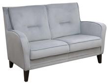 Komfort w stylowym wydaniu!  Nowoczesna, bardzo wygodna sofa 2-osobowa CLARISSA Stelaż drewniany. Siedzisko: sprężyna falista oraz pianka poliuretanowa...