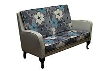 Wygoda w stylowym wydaniu!  Nowoczesna, bardzo wygodna sofa 2-osobowa. Stelaż drewniany. Siedzisko: sprężyna falista oraz pianka poliuretanowa. Oparcie:...