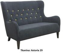 Wygoda w stylowym wydaniu!  Nowoczesna sofa 2-osobowa JULIA Stelaż drewniany. Siedzisko: sprężyna falista, oraz pianka poliuretanowa. Oparcie: pasy...