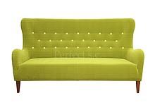 Wygoda w stylowym wydaniu!  Nowoczesna sofa 3 - osobowa z guzikami na oparciu JULIA Stelaż drewniany. Siedzisko: sprężyna falista, oraz pianka...