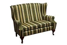 Komfort w Twoim domu!  Stylowa sofa 2-osobowa Stelaż drewniany. Siedzisko: sprężyna falista, bonell oraz pianka poliuretanowa. Oparcie: pasy gumowe oraz...