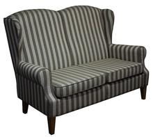 Wygoda w Twoim domu!  Klasyczna sofa 2-osobowa LUGO. Stelaż drewniany. Siedzisko: sprężyna falista oraz pianka poliuretanowa. Oparcie: pasy gumowe oraz...