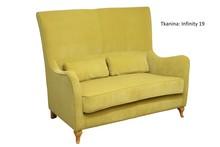 Wygoda w Twoim domu!  Wygodna, solidnie wykonana sofa 2-osobowa. Stelaż drewniany. Siedzisko: sprężyna falista, bonell oraz pianka poliuretanowa....