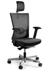 - Oparcie oraz zagłówek wykonane z wysokiej jakości siatki materiałowej przepuszczającej powietrze - Siedzisko pokryte przyjemną w dotyku, w pełni...