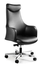 - Regulacja wysokości siedziska - Siedzisko i parcie pokryte wysokiej jakości skórą naturalną - Mechanizm odchylania SYNCHRON - pozwala na zatrzymanie...