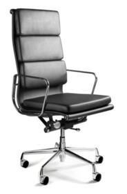 - Regulacja wysokości siedziska - Rama oparcia i podłokietniki wykonane z polerowanego aluminium - Mechanizm odchylania TILT Plus, możliwość bujania się...