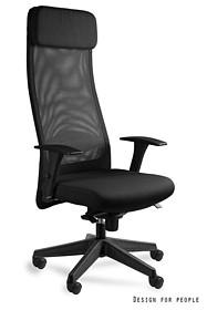 - Regulacja wysokości siedziska - Siedzisko i zagłówek pokryte wysokiej jakości tkaniną materiałową - Oparcie wykonane z wysokiej jakości siatki...