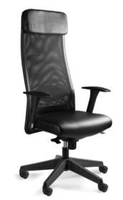- Regulacja wysokości siedziska - Siedzisko i zagłówek pokryte wysokiej jakości ekoskórą - Oparcie wykonane z wysokiej jakości siatki materiałowej...