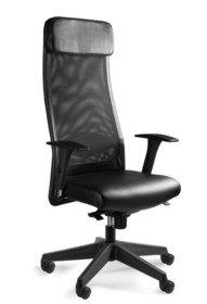 - Regulacja wysokości siedziska - Siedzisko i zagłówek pokryte wysokiej jakości skórą naturalną - Oparcie wykonane z wysokiej jakości siatki...