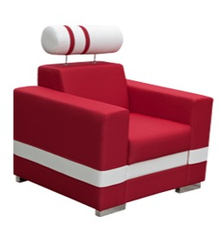 Przedmiotem oferty jest fotel R1. Fotel jest wyposażony w funkcjonalny zagłówek. Wymiary całkowite: Wysokość: 92 cm Szerokość: 93 cm Głębokość: 95...