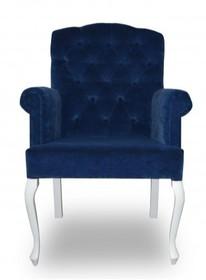 Fotel dopasuje się do każdego wnętrza ze względu na szeroki wybór tkanin. Idealny do nowoczesnego mieszkania, restauracji lub kawiarni.  Wymiary: ...