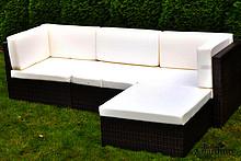 Zestaw mebli ogrodowych RIGATO zachwyci Cię swoją prostotą i niebywałą klasą. Grube i wygodne poduszki sprawiają, że wypoczynek staje się jeszcze...