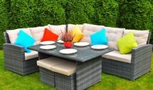 Zestaw mebli ogrodowych ANGELICO  Klasyczny i funkcjonalny zestaw mebli wypoczynkowych ANGELICO stanie się ulubionym miejscem wypoczynku wszystkich gości....