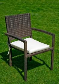 Krzesło ogrodowe zostało wykonane z najwyższej jakości materiałów. Technorattan jest odpornym materiałem, niewrażliwym na szkodliwe działanie...