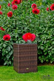 Stolik ogrodowy III - ciemny brąz