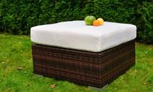 Pufa Ogrodowa  Ekskluzywna pufa będzie idealnym dodatkiem do każdego ogrodu. Stylowe wykonanie i wytrzymała plecionka zachwycą najbardziej wymagających...